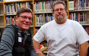Dan Halyburton (left) and John Basso (right).