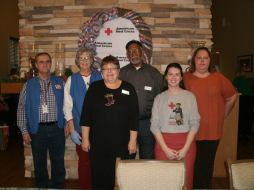 The East Texas Red Cross team.