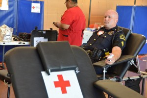 Dallas PD Blood Drive