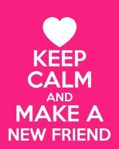 keepcalmnewfriend