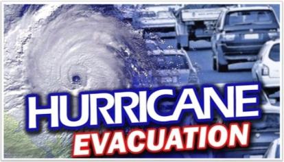Hurricane Evacuation - ABC 12 with border