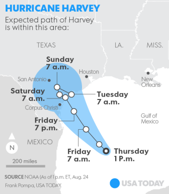 Hurricane Harvey Landfall1
