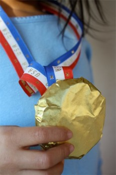 DIY Olympic Medal