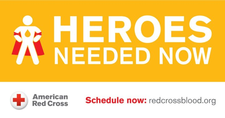 Red Cross Blood Hero